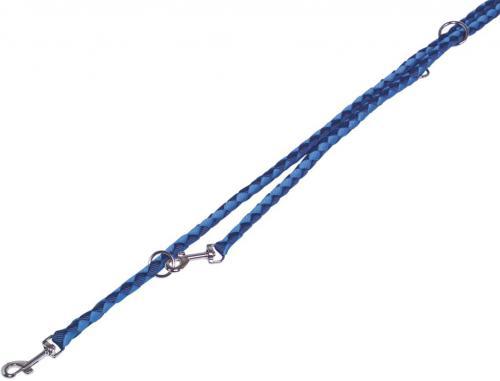 Nobby CORDA kulaté pøepínací vodítko L-XL 200m/18mm modrá