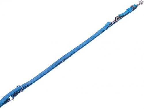 Nobby VELOURS vodítko ze semišové kùže L-XL 2 m tyrkysová