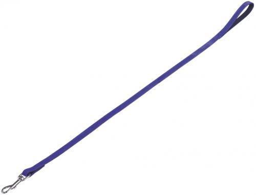 Nobby VELOURS vodítko ze semišové kùže S-M 1 m fialová