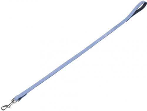 Nobby VELOURS vodítko ze semišové kùže S-M 1 m svìtle modrá