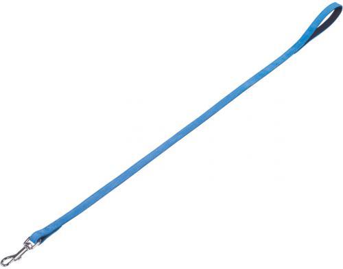 Nobby VELOURS vodítko ze semišové kùže S-M 1 m tyrkysová