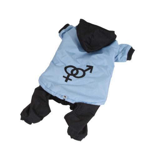 Odepínací nohavice kombinéza modrá XS SLEVA 30 %