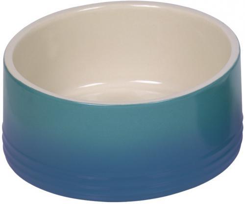 Nobby keramická miska GRADIENT modrá 18,0 x 7,0 cm / 1,10 l