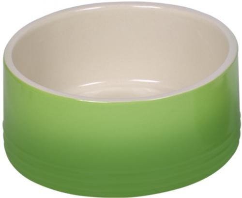 Nobby keramická miska GRADIENT zelená 18,0 x 7,0 cm / 1,10 l