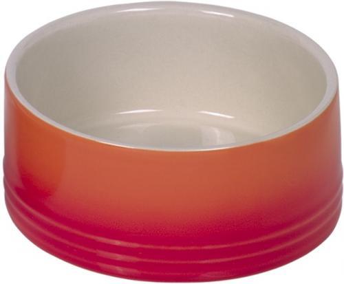 Nobby keramická miska GRADIENT oranžová 15,0 x 6,0 cm / 0,55 l