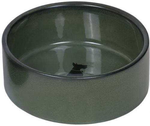 Nobby keramická miska EFFECT zeleno-modrá lakovaná 15,0 x 6,0 cm / 0,55 l