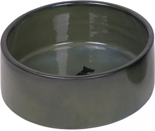 Nobby keramická miska EFFECT zeleno-modrá lakovaná 18,0 x 7,0 cm / 1,10 l