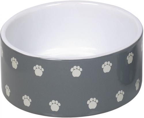 Nobby keramická miska PATA šedá 18,0 x 7,0 cm / 1,10 l
