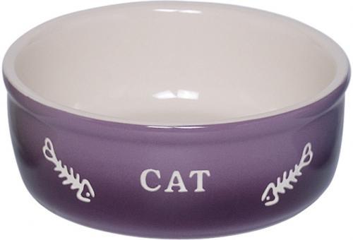 Nobby GRADIENT keramická miska pro koèky fialová 13,5x4,5cm/0,25l