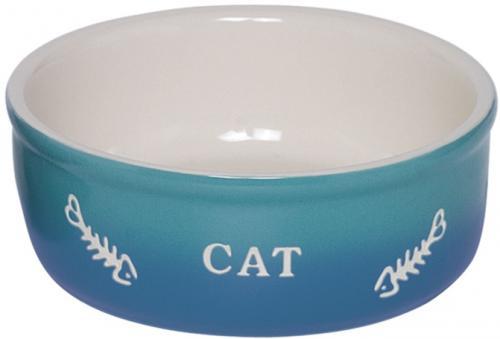 Nobby GRADIENT keramická miska pro koèky modrá 13,5x4,5cm/0,25l