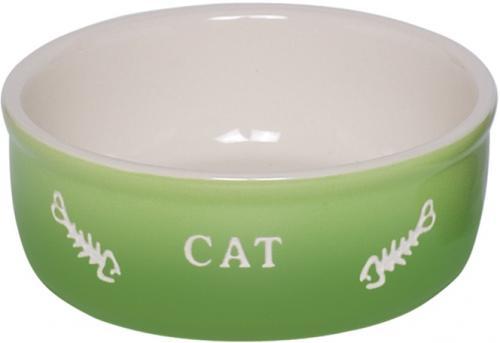 Nobby GRADIENT keramická miska pro koèky zelená 13,5x4,5cm/0,25l