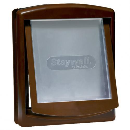 Staywell 755 dvíøka plast hnìdá 35x29cm