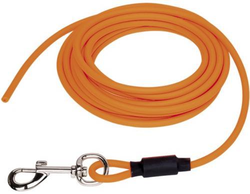 Nobby COVER kulaté stopovací vodítko bez smyèky pvc oranžová neon S-M 5m