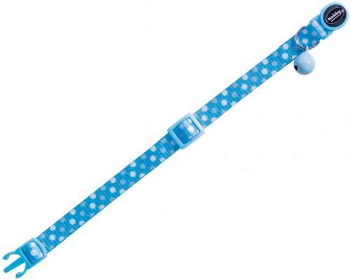 Nobby Circle Blue obojek s rolnièkou pro koèky modrý 1ks