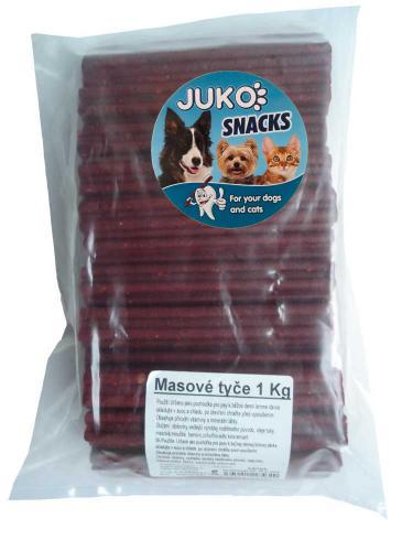 Masové tyèe JUKO SNACKS 1 kg (cca 30 ks)