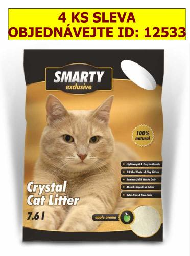 SMARTY exclusive silikátové stelivo 7,6 l