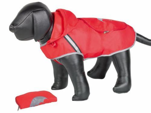 Nobby Rainy èervená reflexní pláštìnka pro psa 26cm