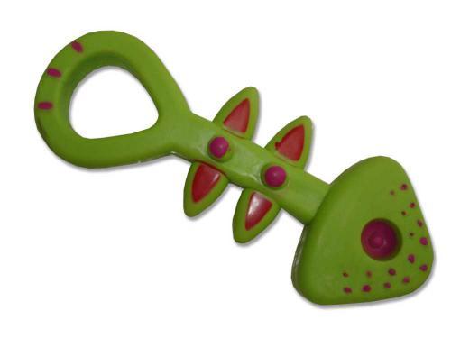 Hraèka pes - rybí kost Rubber