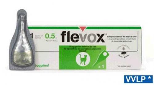 Flevox spot-on koèka 1x0,50 ml