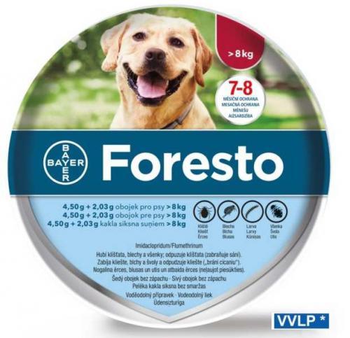 Foresto antiparazitn� obojek pes nad 8 kg 70 cm