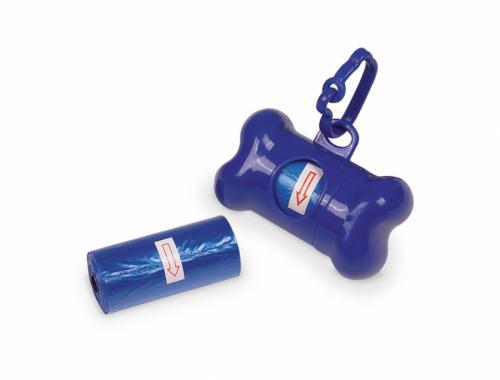 Nobby TidyUp Bone modrý zásobník 8cm