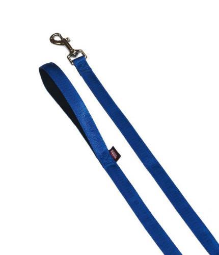 Nobby SOFT GRIP vodítko nylon 120cm / 25mm modrá