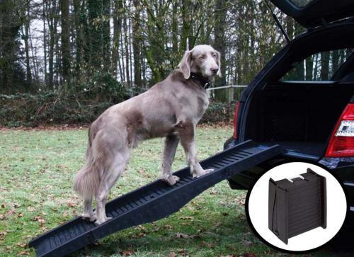 Nobby skládací plastová rampa pro psa 152 x 40 cm