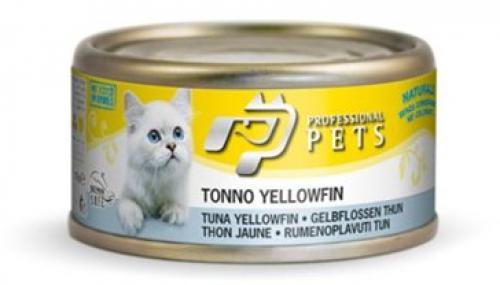 Professional Pets Naturale Cat konzerva tuòák žlutoploutvý 70g