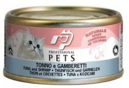 Professional Pets Naturale Cat konzerva tuòák a krevety 70g
