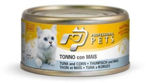 Professional Pets Naturale Cat konzerva tuòák, kukuøice 70g
