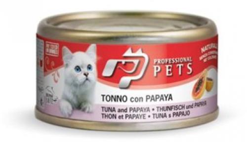 Professional Pets Naturale Cat konzerva tuòák, papája 70g
