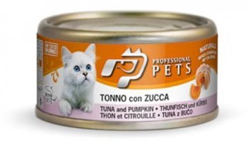 Professional Pets Naturale Cat konzerva tuòák a dýnì 70g