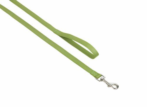 Nobby CLASSIC nylonové vodítko 120cm / 25mm zelená