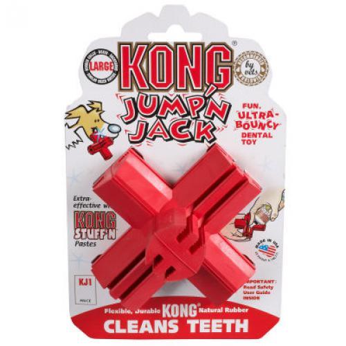 Kong Jump'n Jack Medium dentální hraèka køíž 9cm