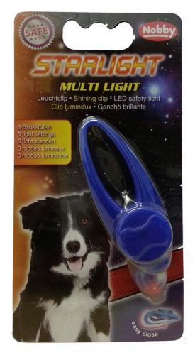 Starlight Multi Light blikající pøívìšek na psí obojek 1ks