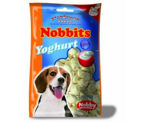Nobby StarSnack Nobbits Yoghurt pamlsky pro psa 200g