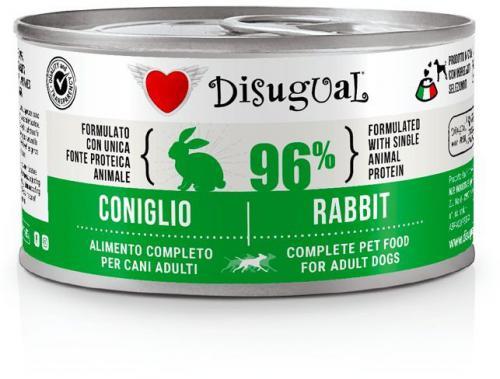 Disugual Dog Mono Králík konzerva 150g