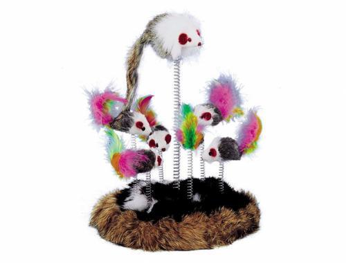 Nobby hrací høištì pro koèku 17cm 7x hraèka