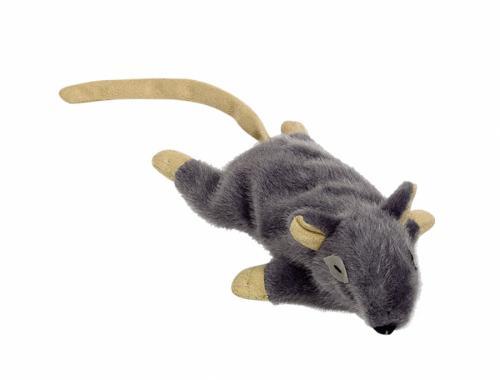 Nobby plyšová myška s šantou koèièí 14,5 cm šedá