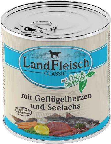 Landfleisch Dog Classic drùbeží srdíèka s treskou 800g