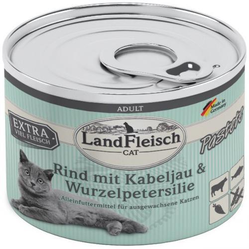 Landfleisch Cat Adult Pastete hovìzí, treska 195g