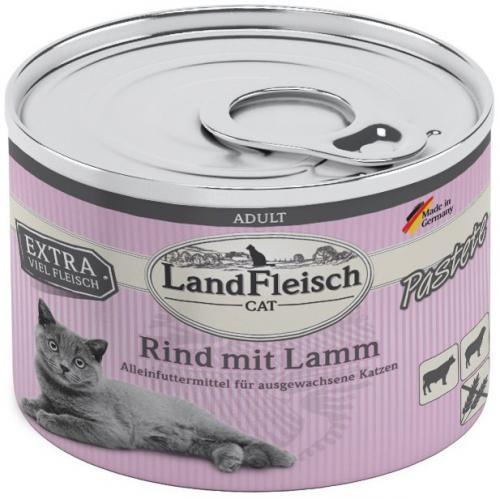 Landfleisch Cat Adult Pastete hovìzí, jehnìèí 195g