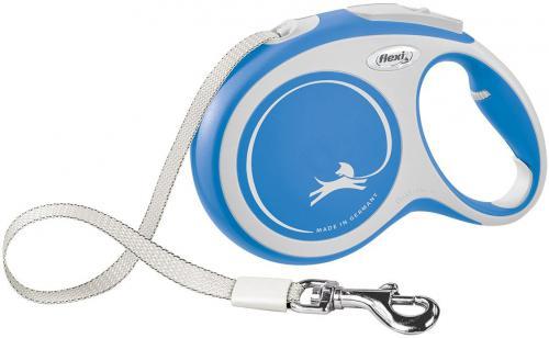 Flexi New Comfort L vodítko pásek 8m/50kg modrá