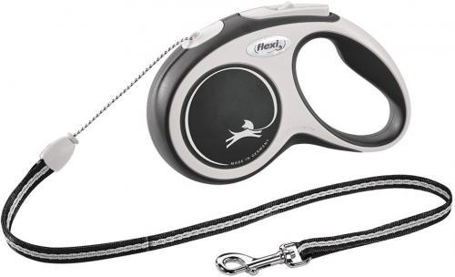 Flexi New Comfort S vodítko lanko 5m/12kg èerná