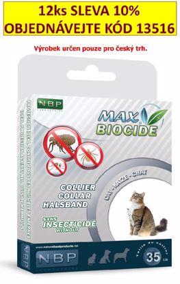 Max Biocide Collar Cat 42cm antipar. obojek-!CZ!-13424  - zvìtšit obrázek