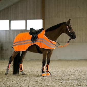Bederka Horze bZeen reflexní oranžová více velikosti - zvìtšit obrázek