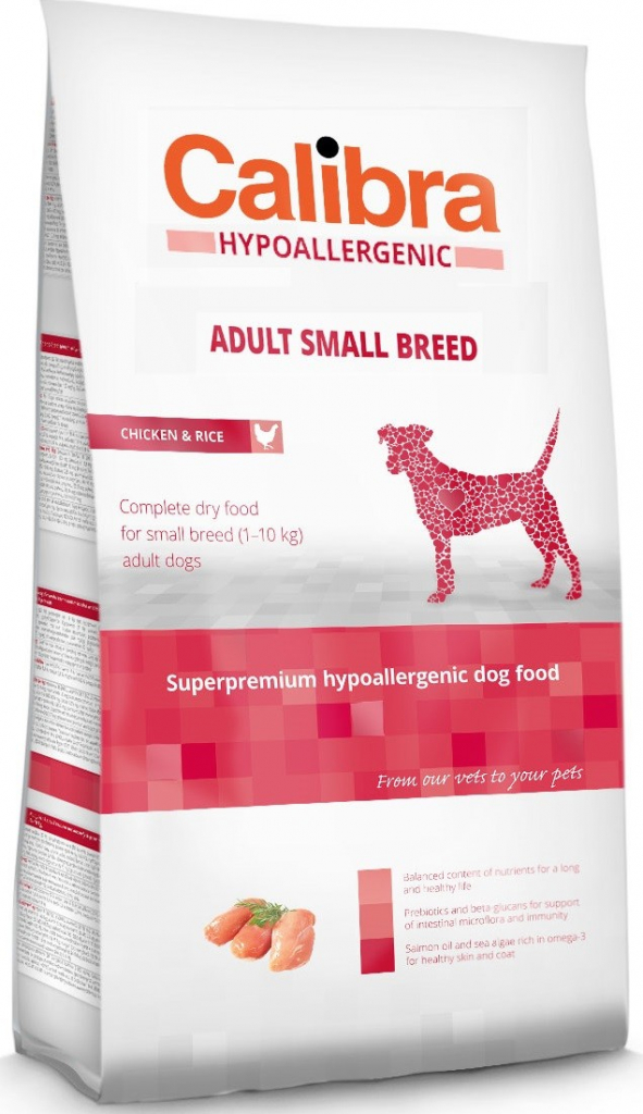 Calibra Dog HA Adult Small Breed Chicken 7kg - zvìtšit obrázek