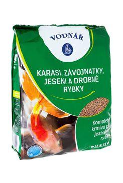 Krmivo pro ryby KARASI, ZÁVOJ,JESENI a malé rybk 4kg  - zvìtšit obrázek