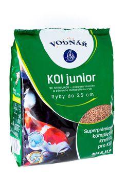 Krmivo pro ryby KOI Junior 4kg  - zvìtšit obrázek
