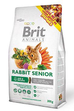 Brit Animals Rabbit Senior Complete bal.300g/1,5kg  - zvìtšit obrázek